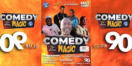 A Comedy Magic tickets