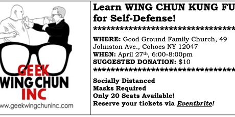 WING CHUN KUNG FU for Self-Defense - An Introduction tickets