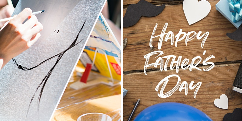 Virtual Father's Day Painting party