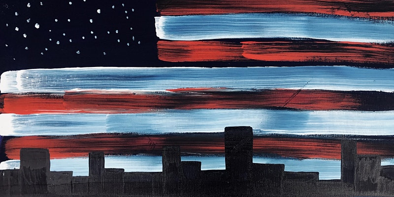 Virtual Livestream 4th of July Painting Party