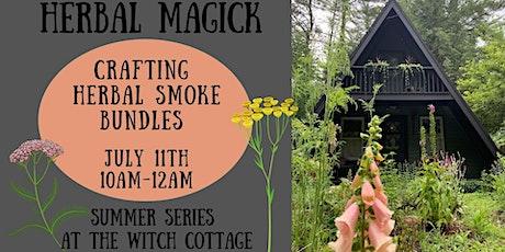 Crafting Herbal Incense & Smoke Bundles tickets