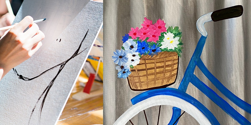 Virtual Livestream Spring Painting Party