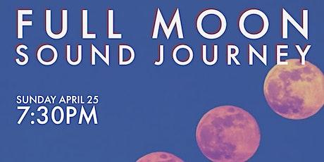 Full Moon Sound Journey tickets