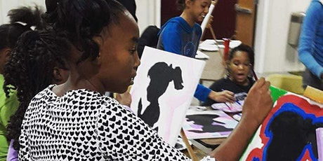 Kids and Teens Paint Party Workshop Ages 9 and up tickets