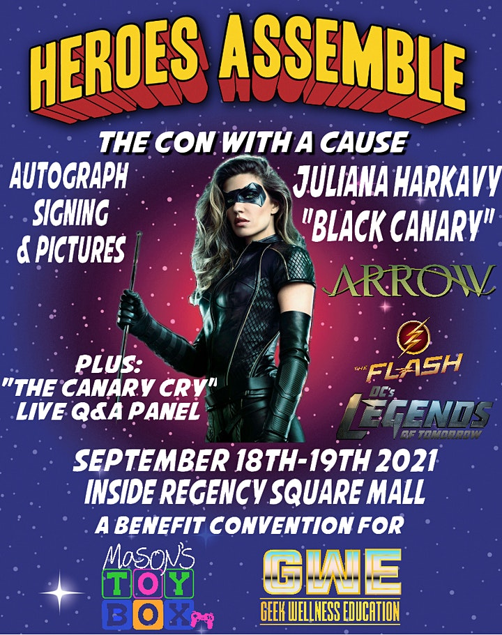 Heroes Assemble: The Con with a Cause image
