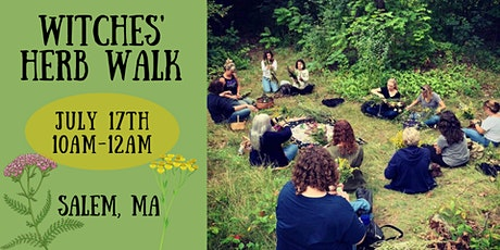 Witches' Herb Walk tickets
