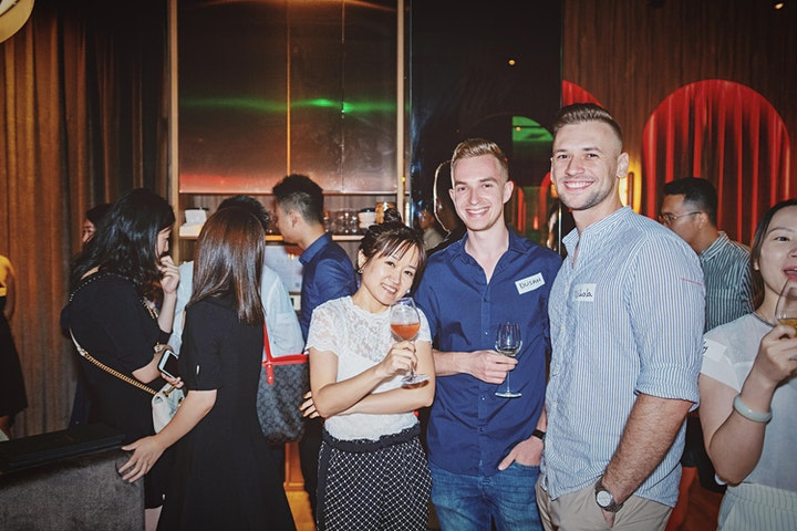 (Under 30) Young Hustler Networking Night「30未达」魔都新贵跨行业酒会 image