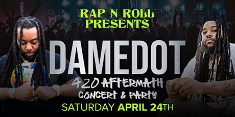 Rap-N-Roll: DameDot Live (The 4/20 Aftermath) tickets