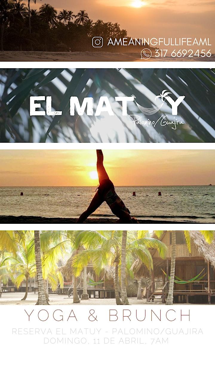 Yoga & Brunch en Palomino/Guajira image