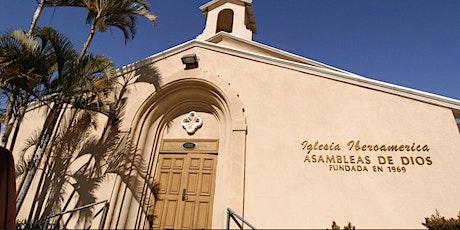 Servicio de JUEVES de Abril en Iglesia Iberoamerica AG Huntington Park boletos