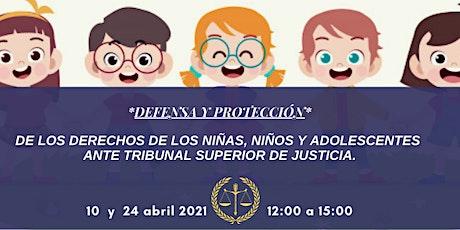 DEFENSA Y PROTECCIÓN DE LOS DERECHOS DE LOS NIÑAS, NIÑOS Y ADOLESCENTES entradas
