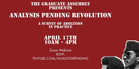 The GA Presents: Analysis Pending Revolution tickets