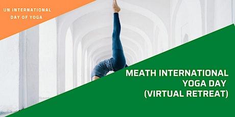 Meath International Yoga Day  (Virtual Retreat) tickets