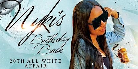 Nyki 20th birthday bash tickets