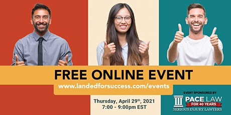 Landed for Success- GLOBAL VIRTUAL NETWORKING EVENT tickets