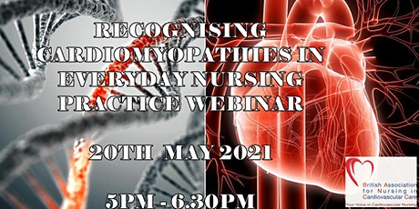 BANCC Webinar: recognising cardiomyopathies in everyday nursing practice. tickets