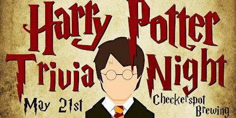 """Harry Potter"" Trivia Night 1.0 @ Checkerspot Brewing tickets"