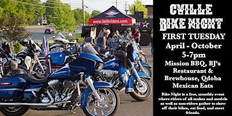 Charlottesville Bike Night tickets