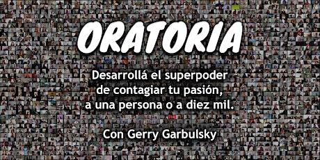 Oratoria: Contagiá tu pasión - Tercera edición - Participantes de Argentina entradas