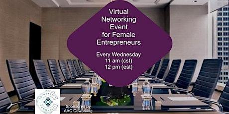 Networking for Female Entrepreneurs billets