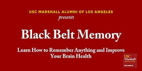 USC Marshall Alumni LA - Black Belt Memory tickets