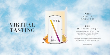 Makku Virtual Tasting Series tickets