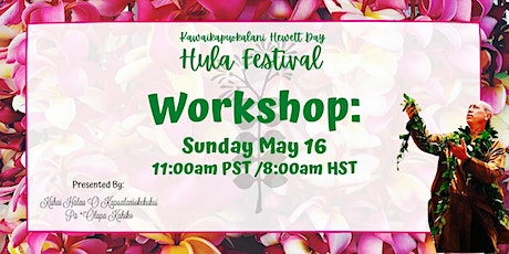 Kawaikapuokalani Hewett Day Hula Festival : Hula Workshop tickets