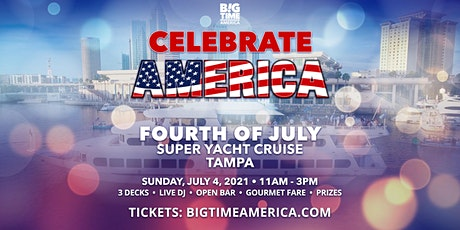 Fourth of July Super Yacht Cruise - Tampa tickets