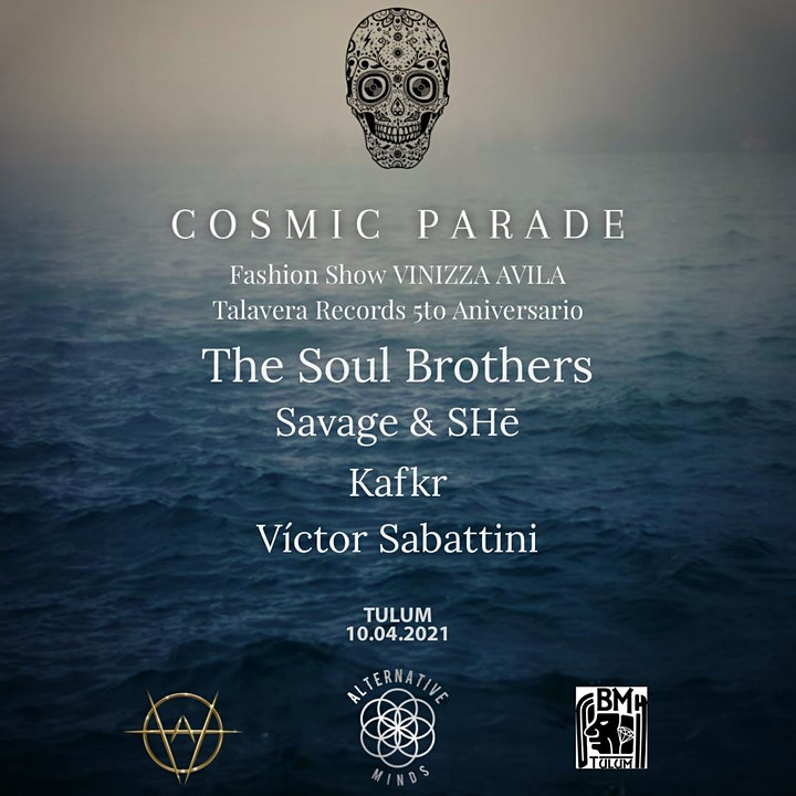 Imagen de THE SOUL BROTHERS IN COSMIC PARADE TULUM