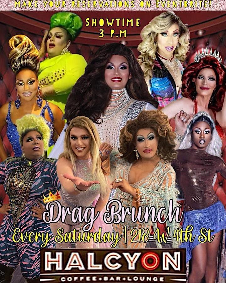Saturday Drag Brunch - Miss Vox & The Vixens image