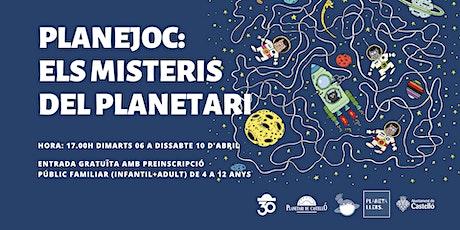 "Planejoc Familiar Planetari ""Els Misteris del Planetari"" entradas"