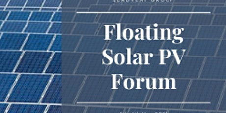 Floating Solar PV Forum tickets