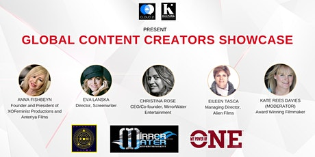 Global Content Creators Showcase 2021 tickets