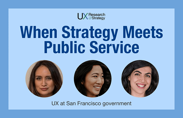 When Strategy Meets Public Service - UX Research and Strategy in Government image