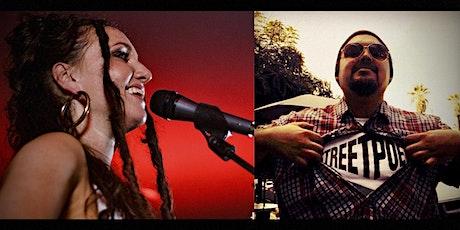 Sariyah's April zoom concert | w/poet Francisco BusStop Prophet Escamilla tickets