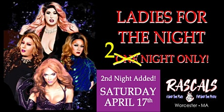 Ladies For The SECOND Night tickets