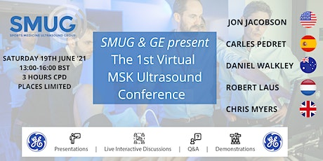 SMUG MSK Ultrasound Virtual Conference 2021 tickets