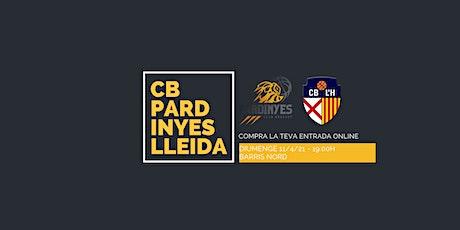 J26 LEB PLATA| C.B.PARDINYES-LLEIDA VS. TORRONS VIÇENS L'HOSPITALET entradas