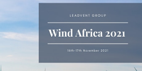 Wind Africa 2021 Conference & Exhibition tickets
