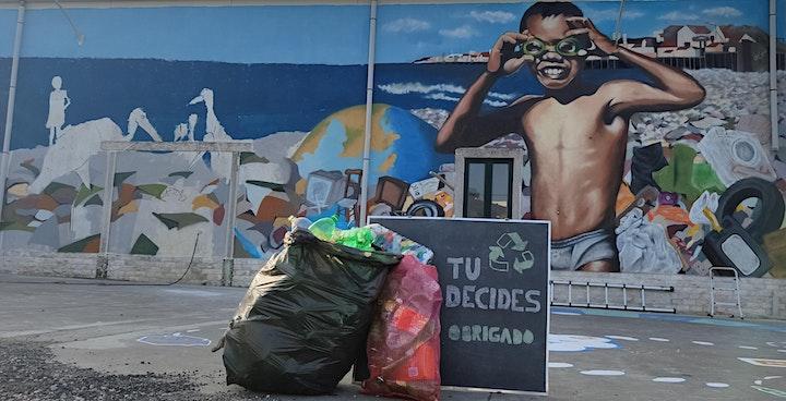 """imagem Plástico à Vista - Workshop """"Reciclagem para Todos"""""""