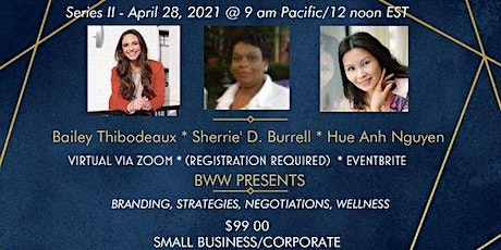 Series II - OPTIMIZING YOUR BRAND (Negotiations, Funds Management, Wellness tickets