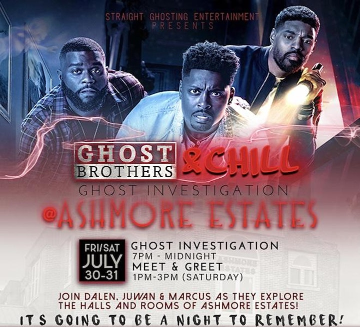 Straight Ghosting with the Ghost Brothers at Ashmore Estates image