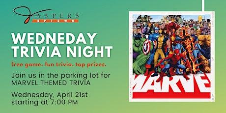 Wednesday's Trivia Night at Jasper's Uptown tickets