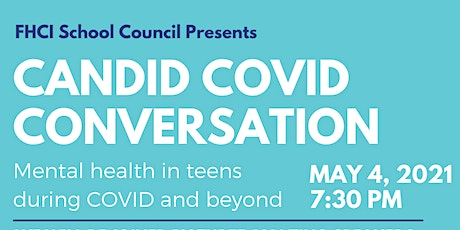 Candid Covid Conversation presented by FHCI School Council tickets