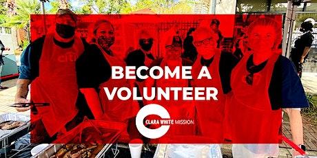 Clara White Mission - Daily Feeding Volunteering tickets