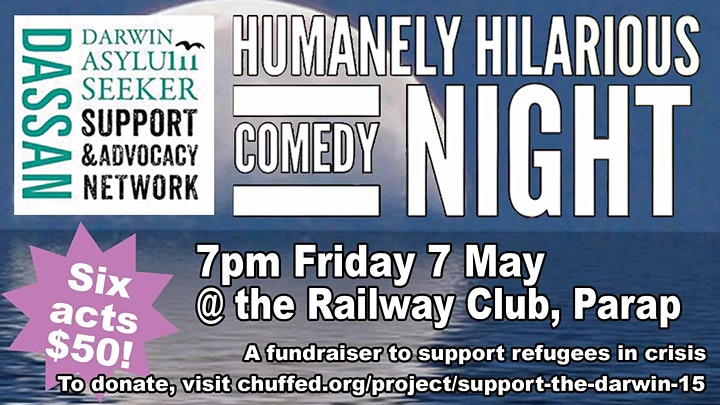 Humanely Hilarious Comedy Night image