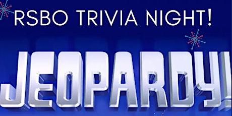 RSBO Jeopardy Trivia Night 2 tickets