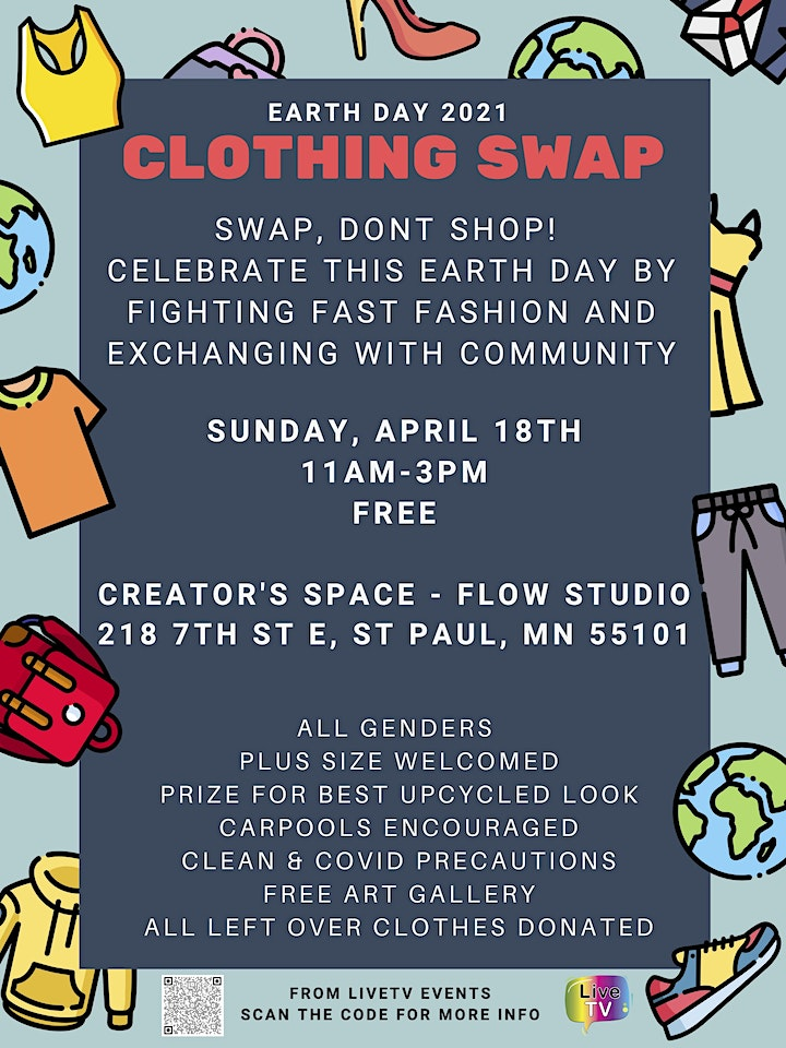 Earth Day Clothing Swap image
