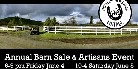 Annual Barn Sale &  Artisan Event tickets