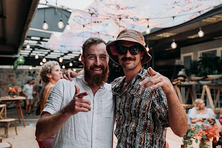 SKANDIBAR Launch · art and music warehouse party image